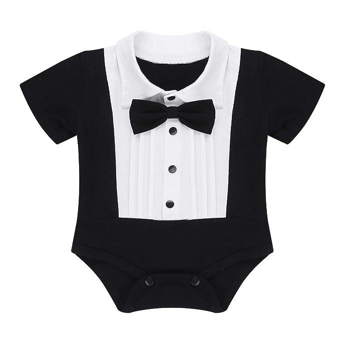Amazon.com: iEFiEL - Body corto de manga larga para bebés y ...