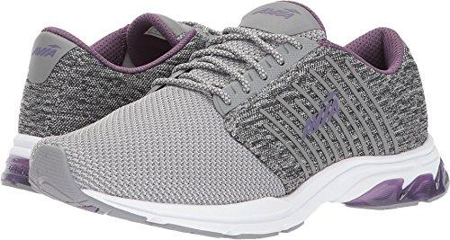 UPC 191045067100, AVIA Women's Avi-Zeal Track Shoe, Frost Grey/Cool Mist Grey/Twilight Purple, 7.5 M US