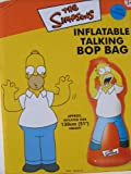 HOMER SIMPSONS INFLATABLE TALKING BOP BAG 51'' TALL