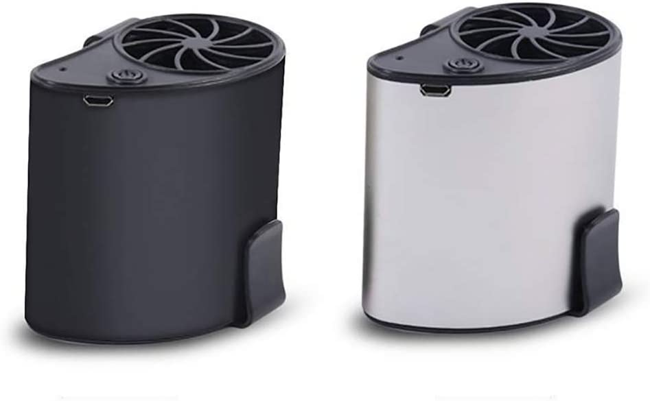 856store Fans Cooling Mini Portable USB Rechargeable Summer Cooling Air Conditioner Waist Fan Cooler