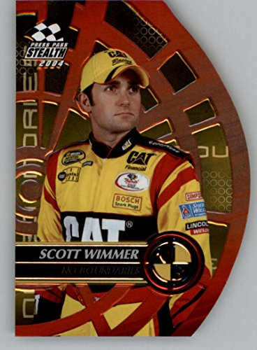 2004 Press Pass Stealth No Boundaries #NB27 Scott Wimmer NM-MT