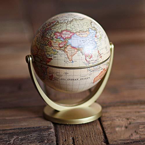 juguete de ayuda para profesores di/ámetro: 12 cm geograf/ía mapa de la tierra Globo terr/áqueo antiguo para escritorio