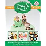 JUNGLE FUN! Cute & Easy Jungle Animal Cake Toppers!