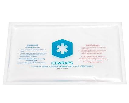 IceWraps Paquete del gel Pack reutilizable para microondas ...