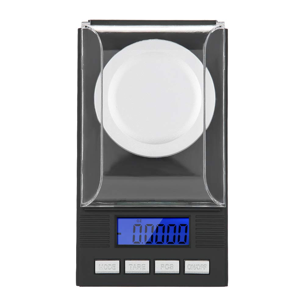 100g Cocoarm Jewelry Scale Mini Portable High Precision 0.001g Pocket Jewelry Scale with LED Digital Display