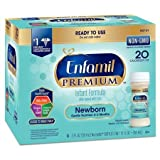 Enfamil Newborn Infant Formula, Ready to Feed Nursette Bottles, 2 Ounce (48 Count) (Packaging May Vary)