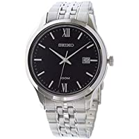 Seiko Men's Special Value Stainless Steel Bracelet Watch SUR221