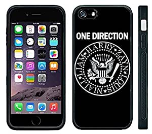 Apple Case Cover For Apple Iphone 4/4S Black PC Silicone Case One Direction 1D Seal