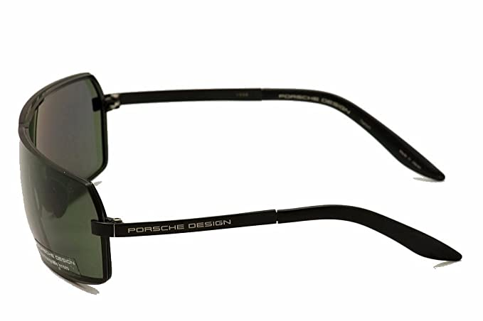 606b1c0cee3f Porsche Design P 8491 Sunglasses P8491 C Black Grey Shades  Amazon.co.uk   Clothing
