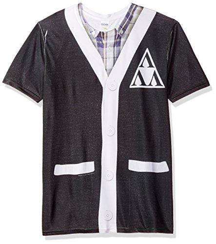 - Trevco Men's Revenge of The Nerds Sublimated T-Shirt, White X-Large