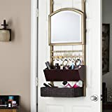 Harper Blvd Chapman Over-the-Door Organizer/ Mirror