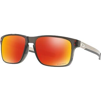 a62197be50a00 Amazon.com  Oakley Men s Holbrook Mix Polarized Iridium Rectangular ...
