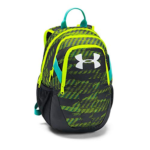Under Armour Medium Fry Backpack, High-Vis Yellow (731)/White, One Size Fits All (Boys Under Armour Backpack)