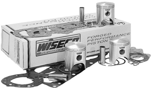 Wiseco WK1330 81.50 mm 2-Stroke Watercraft Piston Kit with Top-End Gasket Kit
