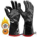 Heatsistance Heat Resistant BBQ Gloves, 14' Long Sleeve, Large -...