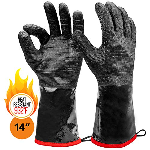 Heatsistance Heat Resistant BBQ Gloves, 14