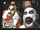 SID HAIG Signed Custom 8X10 Photo The Devils Rejects Captain Spalding B