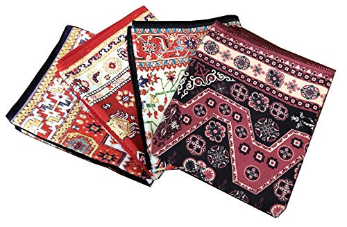 Inusitus Large Kitchen Dish Towels | Set of 4 | Microfiber Soft Absorbent | Large Dish Cloths 25