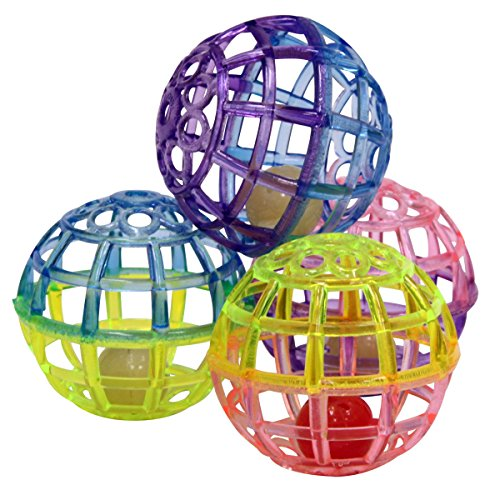 SPOT Ethical Products 773073 4-Pack Lattice Balls Cat Toy - Ethical Products Cat