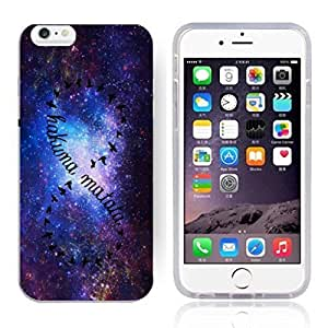 Africa Ancient Proverb HAKUNA MATATA Color Accelerating Universe Star Design Pattern HD Durable Hard Plastic Case Cover for iPhone 6 Plus by runtopwell