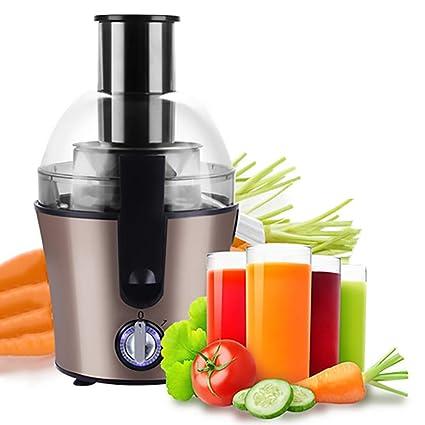 Lndixy Exprimidor máquina de Jugo de Frutas Enteras 3 Ajuste de Velocidad centrifugador de Potencia centrífuga