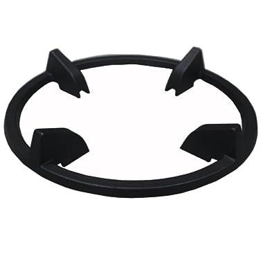 Enamel Wok Ring for Samsung NX58H5650WS, NX58H5600SS, NX58H9500WS, NY58J9850WS, Frigidaire FPGF3077QF, GE Appliances JGBS66REKSS, Whirlpool WFG320M0BB, WFG505M0B, KitchenAid KSGG700ESS, KFGD500ESS