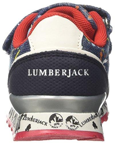 Lumberjack Galaxy - deportivas bajas Niños Blu (Splash Blue/Blue)