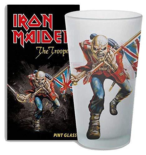 KKL Iron Maiden Pint Glass The Trooper Bicchieri Boccali ()