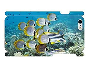 3d Full Wrap Case for iPhone 6 Animal - Fishes Undersea