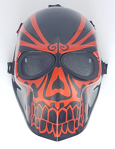 Airsoft Full Face Mask Army of two Cosplay Halloween mask Paintball Ghost Masks Mauri -