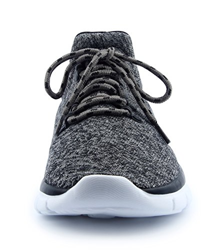 Mens up Breathable CHUI Sneakers Lace Grey Casual Shoes Lightweight Sneakers Comfortable Fashion gqwAwdaW
