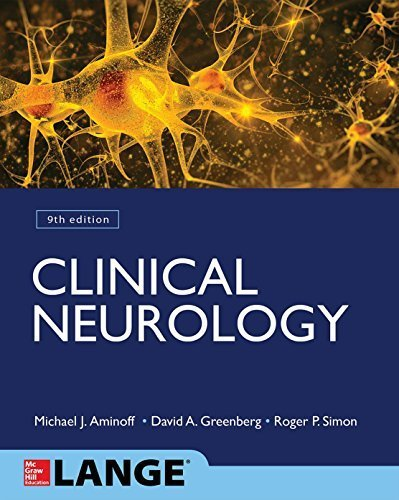 Clinical Neurology 9/E (Lange Medical) 9th Edition by Aminoff, Michael, Greenberg, David, Simon, Roger (2015) Paperback