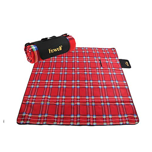 Hewolf Outdoor Amp Picnic Blanket Extra Large Rainproof And