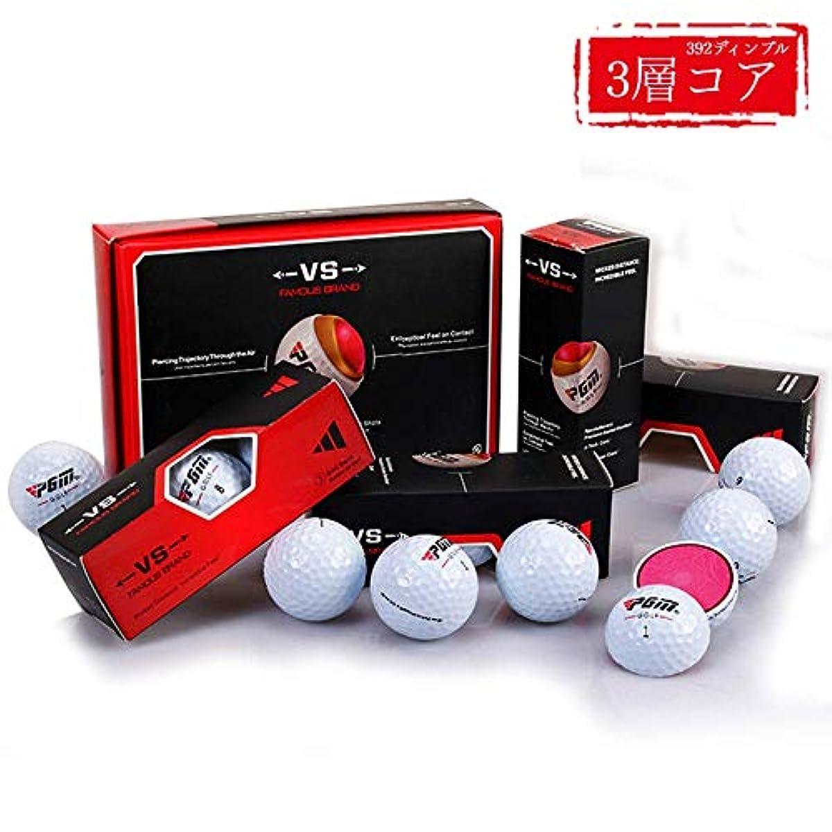 [해외] KAIFJ 골프 볼1다스(12개입) 강탄도를 가능하게 하는 392dimple