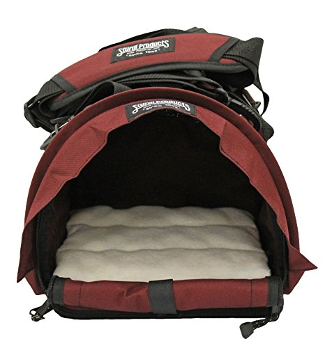 Sturdi Products SturdiBag Cube Pet Carrier, Small, Bordeaux