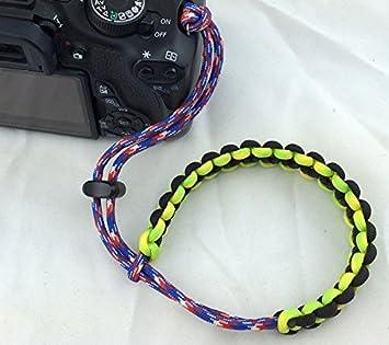saflyse muñeca correa de mano correa DSLR Wrist Strap apto para cualquier cámara también se puede