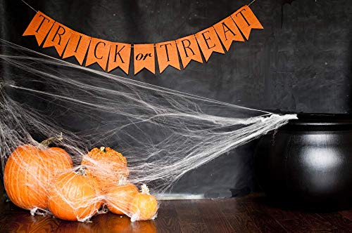 Trick or Treat Cardstock Banner | Halloween Decoration]()