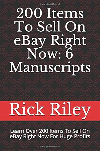 200 Items To Sell On Ebay Right Now 6 Manuscripts Learn Over 200 Items To Sell On Ebay Right Now For Huge Profits Ebay Mastery How To Sell On Ebay Ebay Secrets