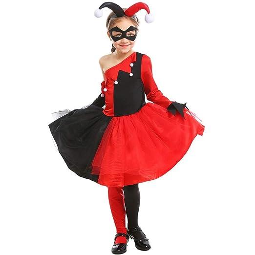 Quskto Disfraces de Halloween los niños Niñas Traje de ...