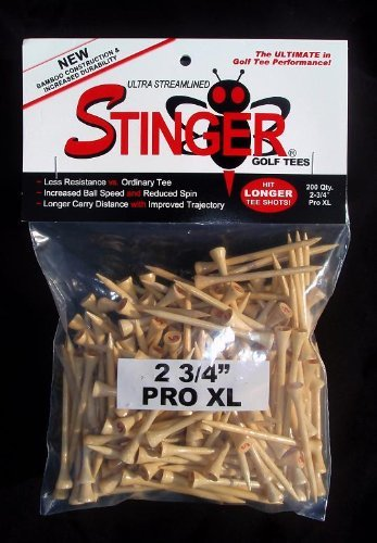 - Stinger Pro Xl Golf Tees 200 Count by Stinger Tees