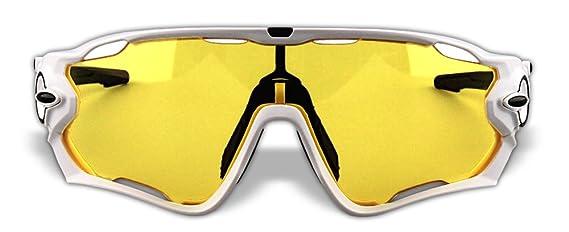 4 lentes Chrome Iridium Switchlock pulido marco original gafas de sol de deportes polarizados JB02
