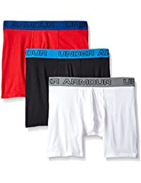 "Men's Charged Cotton Stretch 6"" Boxerjock 3-Pack"