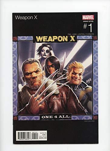 WEAPON X #1 | Marvel | June 2017 | Vol 3 | David Nakayama Marvel Hip-Hop Retailer Incentive Cover