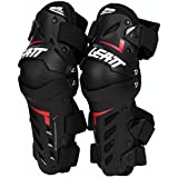 Leatt Black Small/Medium Knee & Shin Guard Dual Axis,1 Pack