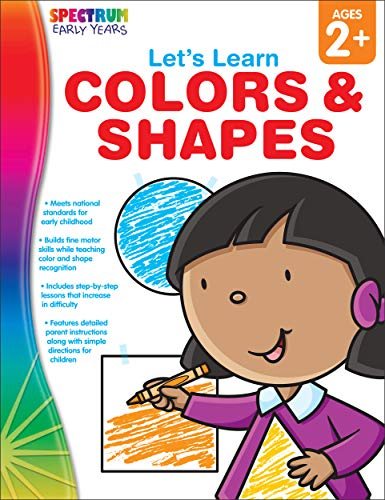 Spectrum Of Colors - Spectrum Let's Learn: Colors and Shapes,