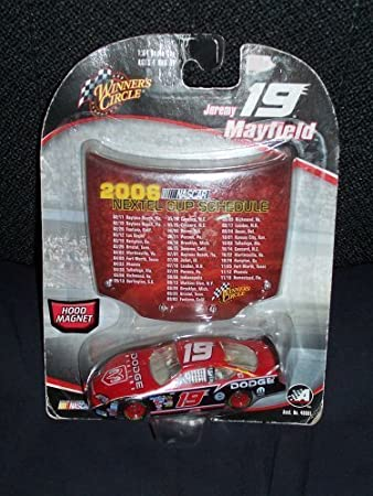 Amazon Winners Circle 2006 NASCAR Hood Magnet Jeremy Mayfield