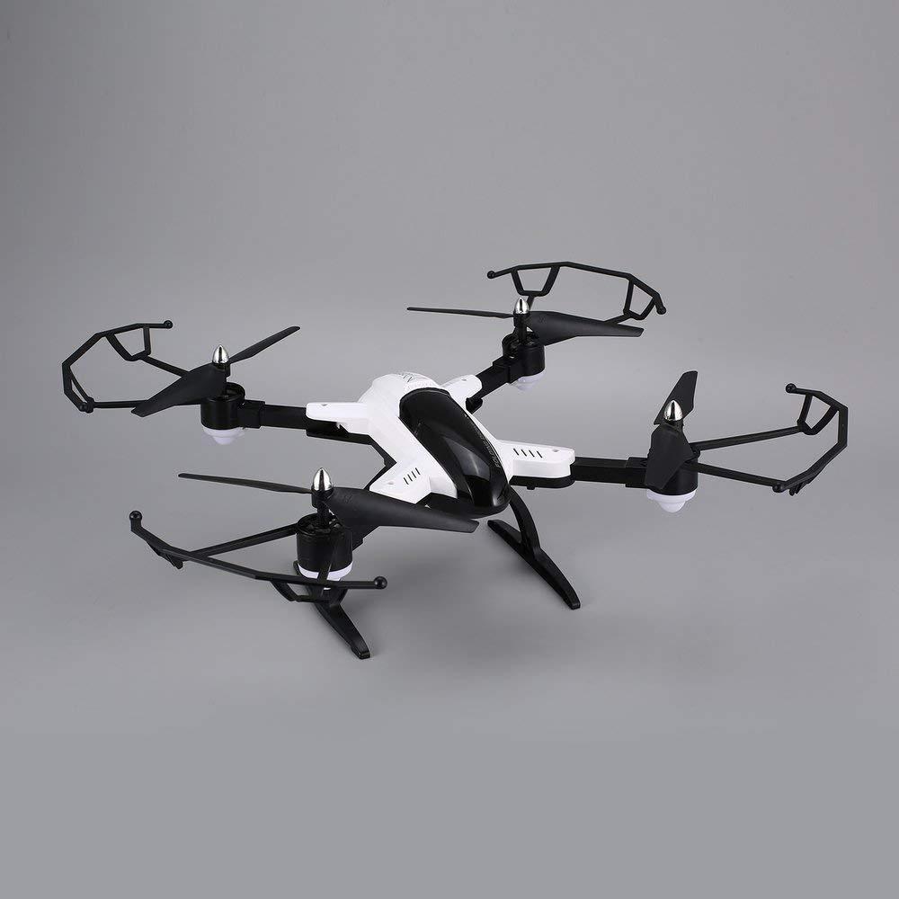 X33c-1 Faltbarer intelligenter RC 2.4G RC Quadcopter Brummen-Flugzeug mit Headless Höhe Halten Headless mit Modus 3D kippt einen Schlüssel Weg - schwarz-weiß d1cd93