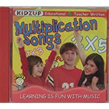 Multiplication Songs: Learning Is Fun With Music by Kidzup