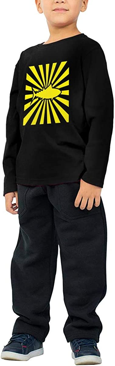 Sushi Chef Tuna Childrens Long Sleeve T-Shirt Boys Cotton Tee Tops