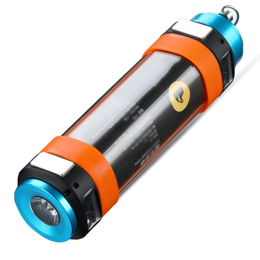DYW-Lanterne Camping Light LED Lampada da Campeggio Portatile Impermeabile Ricaricabile Tenda da Campeggio Lampada da Torcia elettrica Multifunzione (Colore   T2)